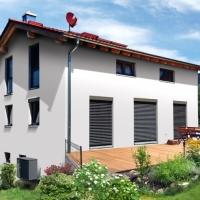 Kniestock-Haus mit KG-Ausbau Hang Litzendorf