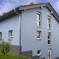 Hangbebauung in Litzendorf EFH