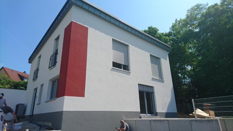 Pulthaus mit 5-Grad Prefa-Dach in Memmelsdorf
