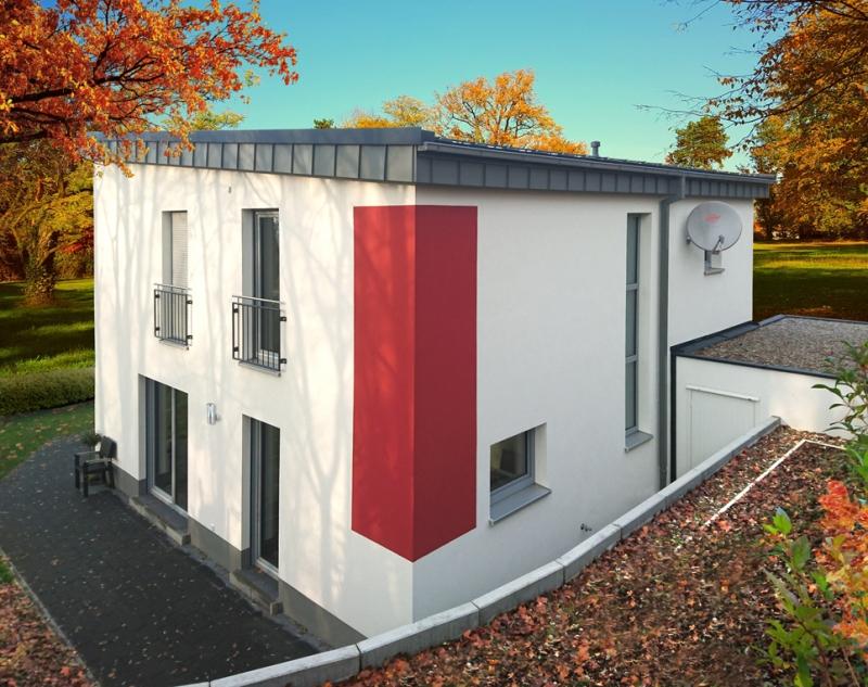 Pulthaus mit flacher Neigung in Memmelsdorf